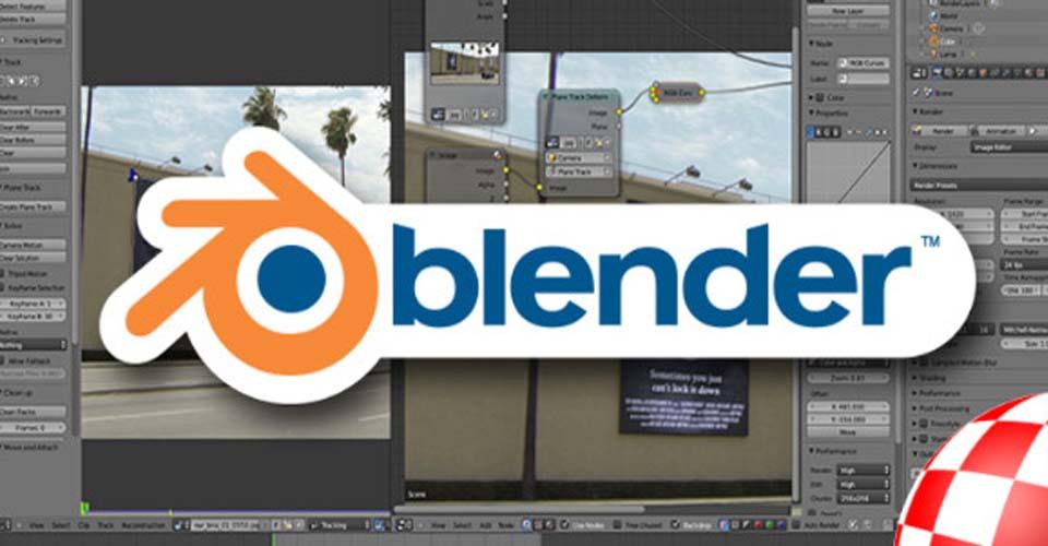 blender phần mềm thiết kế 3D