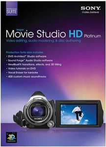 Vegas Movie Studio HD Platinum