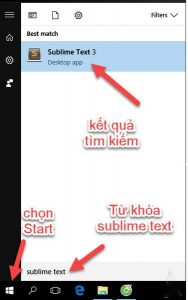 tải Sublime Text 3