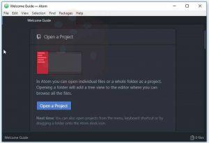 download phần mềm Atom